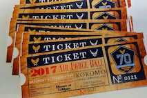The United States Air Force turns 70 this year, and the 434th Air Refueling Wing will celebrate the occasion with an Air Force Ball Sept. 23, 2017 at the Kokomo Event Center in Kokomo, Ind. Members can get their tickets from their unit representatives or by calling 1st Lt. Erica Morgan at 765-688-4931. (U.S. Air Force photo/Tech. Sgt. Benjamin Mota)