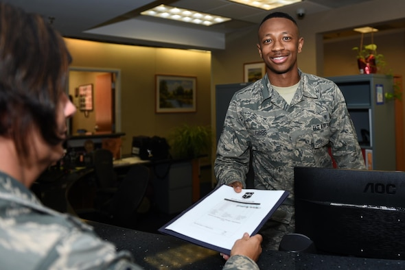 Senior Airman Jalen Gibbs, 19th Medical Support Squadron commander support staff, was recognized as the Combat Airlifter of the Week May 25, 2017, at Little Rock Air Force Base, Ark. Gibbs supports 337 members within the 19th Medical Group and 75 MDG operating instructions. He also serves as the treasurer for the booster club and is currently planning the 2017 Holiday Party. (U.S. Air photo by Airman 1st Class Kevin Sommer Giron)