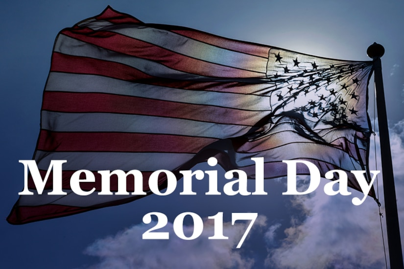 On Memorial Day, we pause as a nation to honor those who died while defending America's freedom. The Defense Department joins Americans around the world in remembering and honoring their sacrifice. Click to learn more in the Defense.gov special report: Memorial Day 2017.