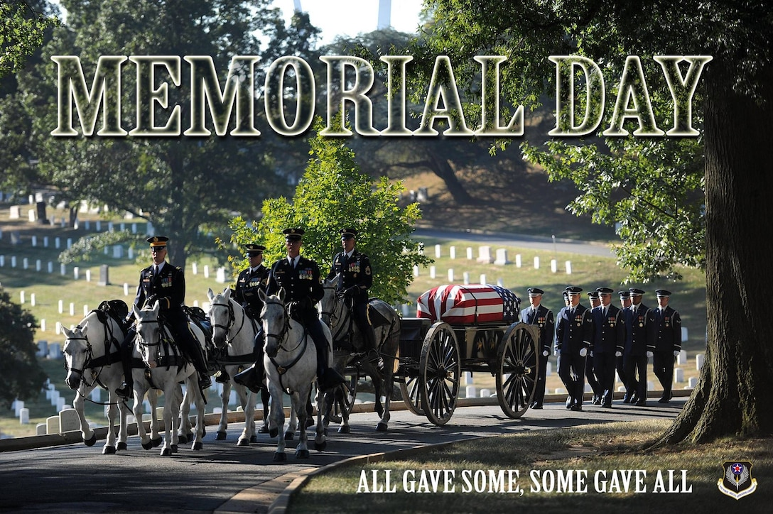A Memorial Day graphic.