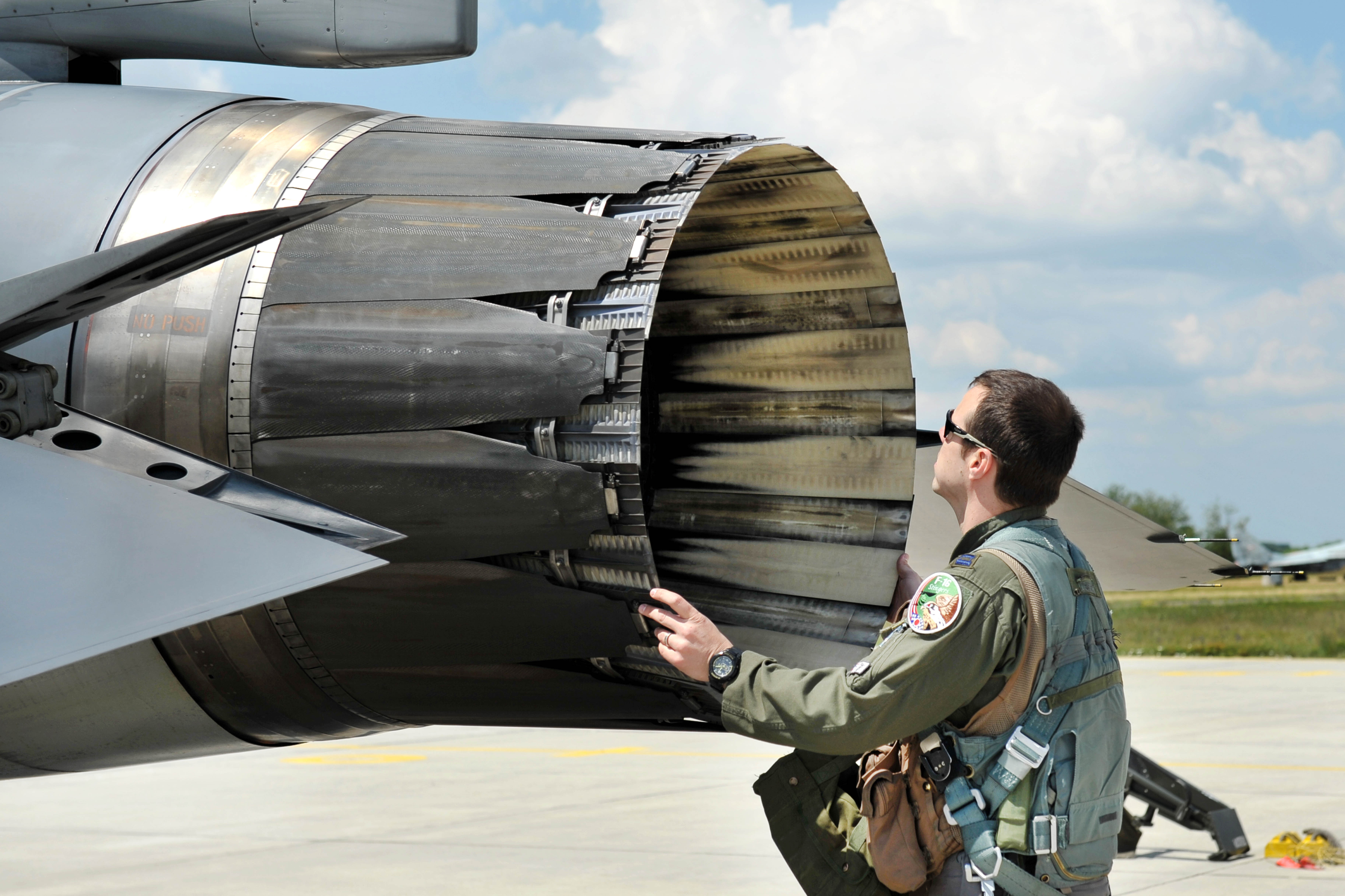 Aircraft Engine Check