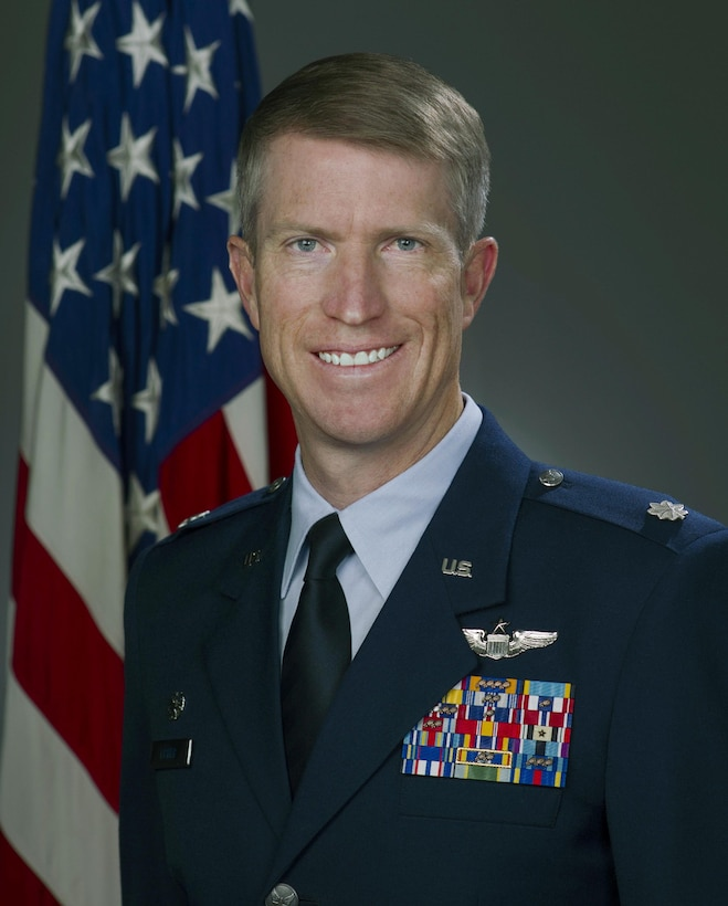 Lt. Col. Erik Fisher, official photo, U.S. Air Force