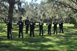 Funeral Honors team