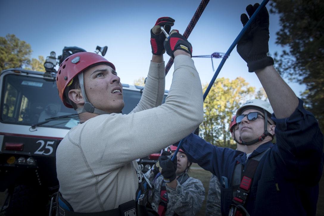 4th CES firefighters certified in rescue ops