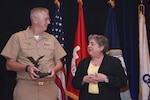 The Navy's top defense acquisition award was presented to DCMA director, Navy Vice Adm. David Lewis, for a lifetime achievement in acquisition excellence.