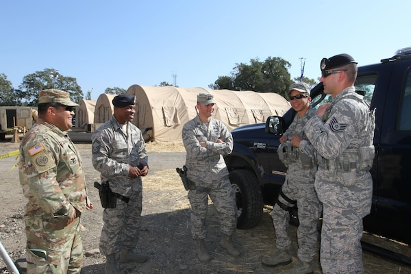 Air Guard joins Army Guard in California wildfire response