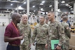 Joint Chiefs Director of Logistics visits Distribution headquarters, discusses future capabilities