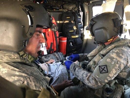 Kentucky medevac unit helps after hurricanes in Virgin Islands