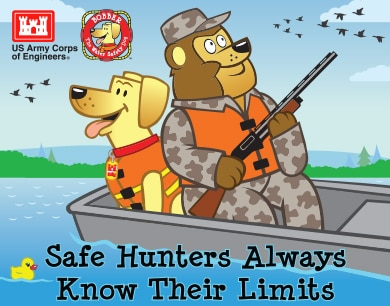 Safe hunters know their limits!
