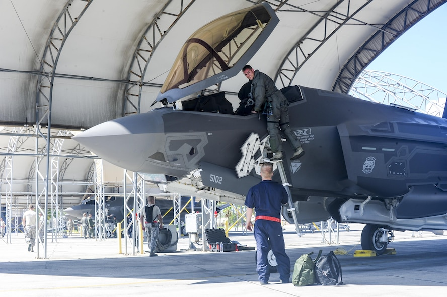 U.S. Air Force's F-35A Lightning II scheduled for first operational deployment to Indo-Asia-Pacific