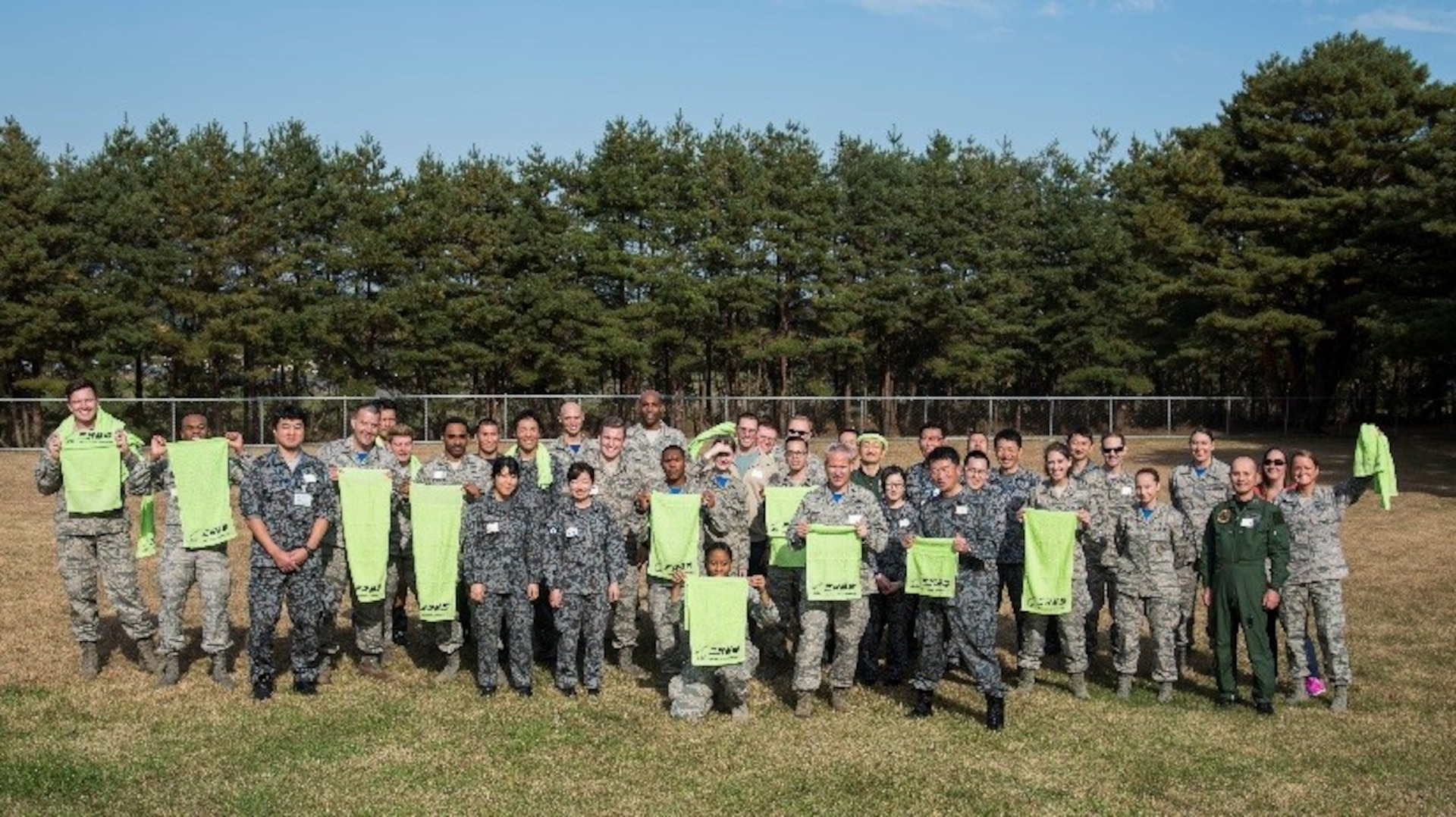 Stronger together: JASDF, U.S. Airmen build bonds during resiliency day
