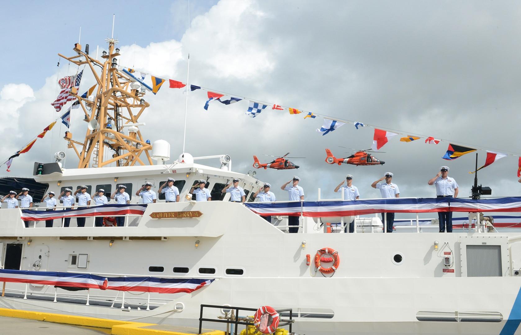 Coast Guard commissions Hawaii's first Sentinel-class cutter