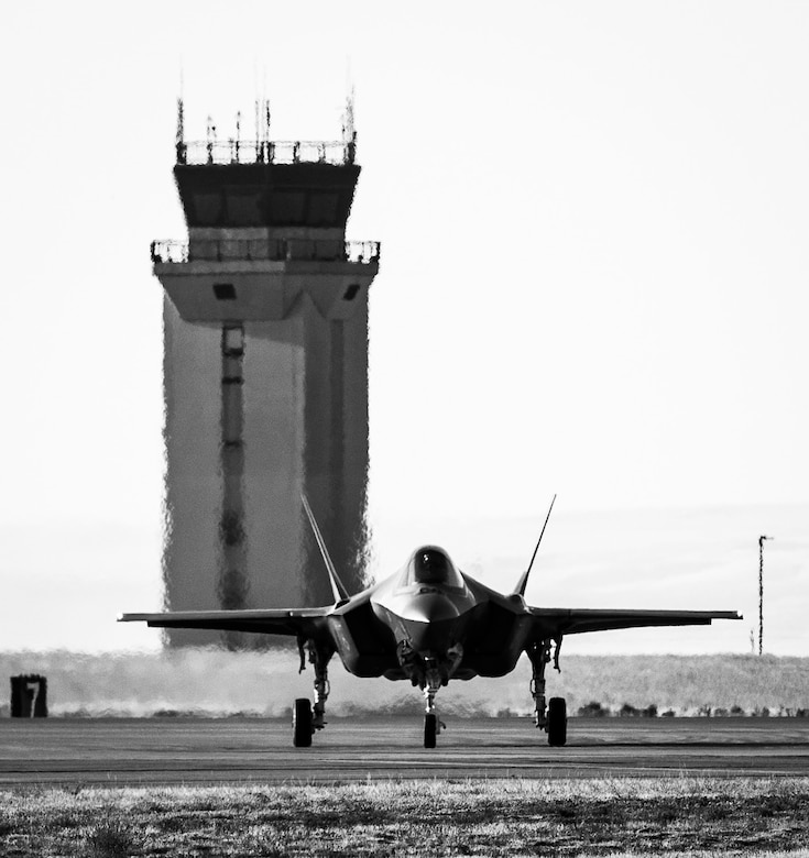 F-35A Lightning II instructor pilots from the 62nd Fighter Squadron at Luke Air Force Base, Arizona, came here for three weeks in late October to train the next generation of F-35A pilots.