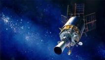 U.S. Air Force graphic satellite depiction