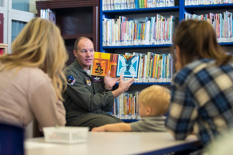 The 412th Test Wing and NASA Armstrong Flight Research Center kicked off Native American Heritage Month at the base library Nov. 1. (U.S. Air Force photo by Christian Turner)