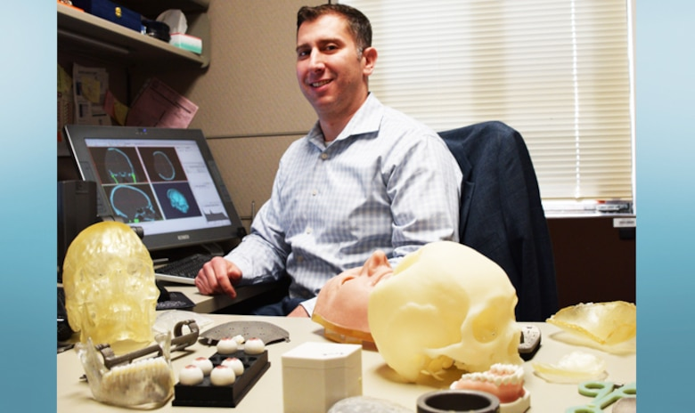 Peter Liacouras is director of the 3-D Medical Applications Center at Walter Reed National Military Medical Center in Bethesda, Maryland. (Courtesy Photo)