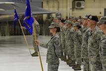 173rd Fighter Wing Airmen participate in demobilization ceremony