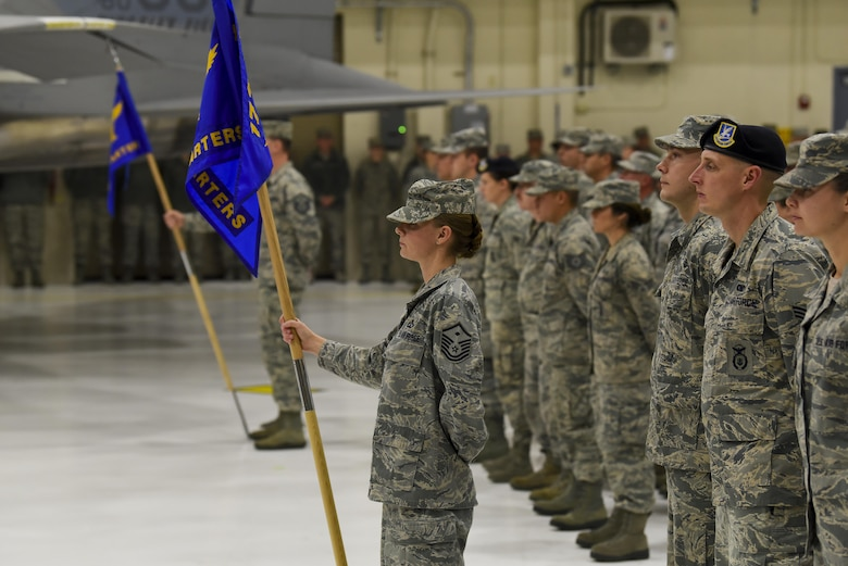 173rd Fighter Wing Airmen participate in demobilization ceremony
