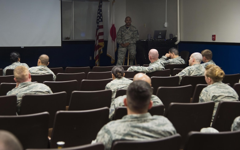 More than 25 non-commissioned officers and senior NCO's attended the week-long First Sergeant Symposium at Misawa Air Base, Japan, Oct. 20, 2017.