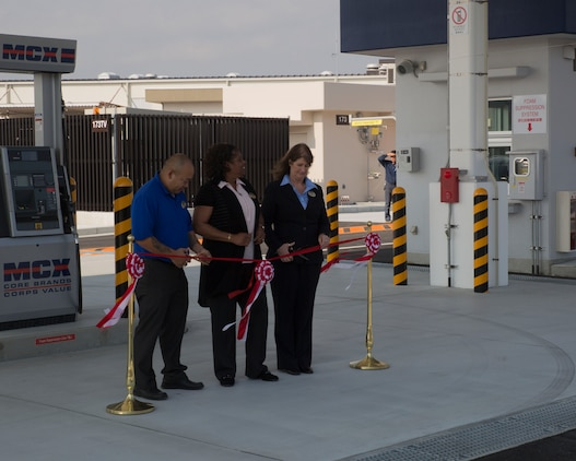 DPRI, MCCS hold grand opening of new gas station