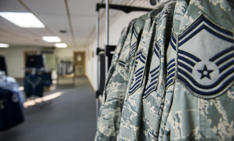 Two dozen of the 919th SOW's finest sewed on new Air Force rank in November.