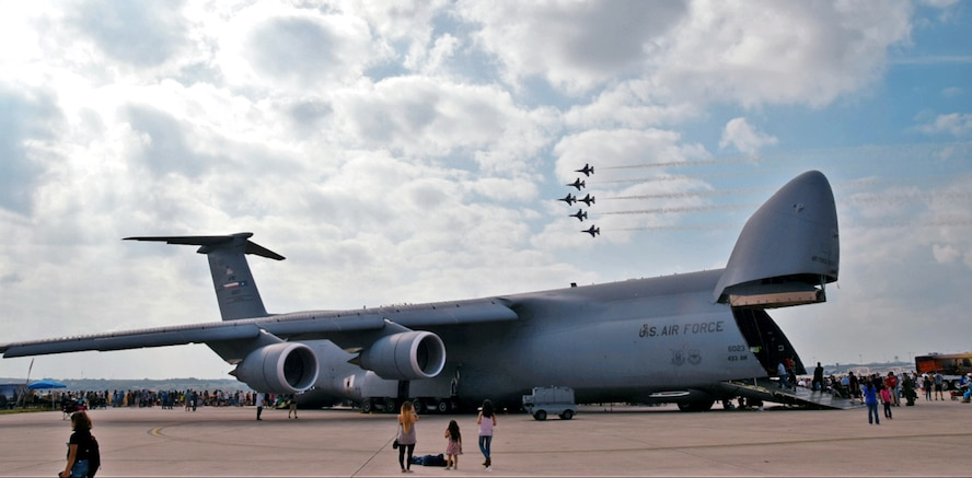 Over 150,000 visitors were expected to visit the Joint Base San Antonio-Lackland Air Show and Open House, Nov. 4, 2017.