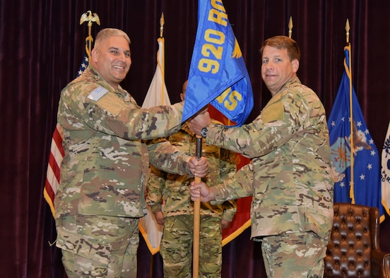 308th RQS welcomes new commander