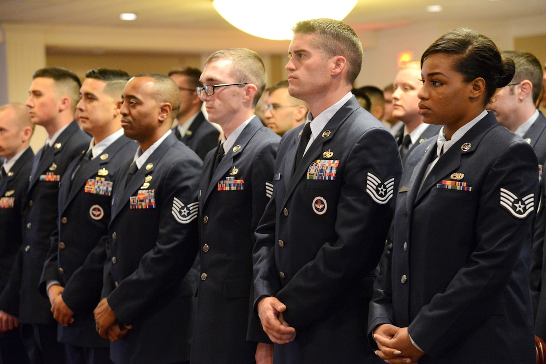 Tinker's Community College of the Air Force Graduation ceremony recognized 126 graduates receiving 130 diplomas, with four Airmen earning more than one degree.
