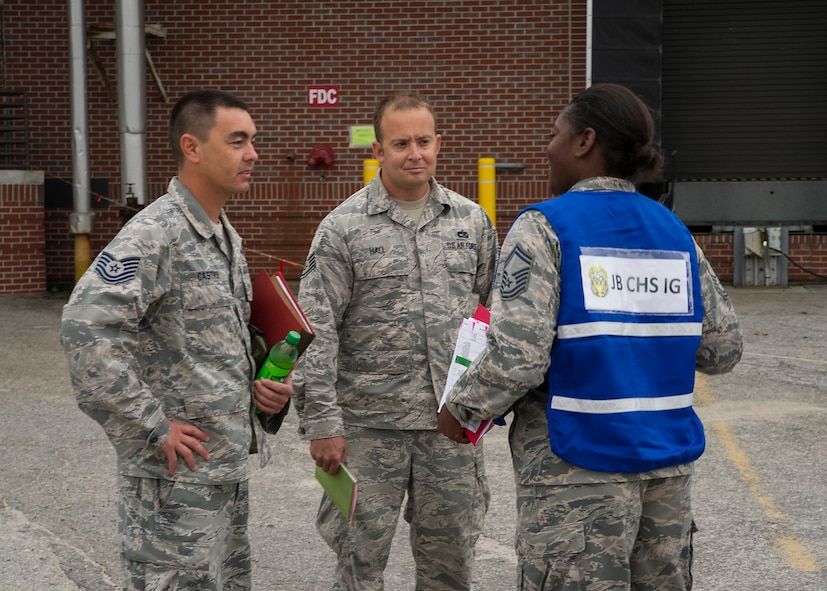 Exercise tests wing's ability to survive, operate