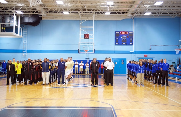 2017 Armed Forces Men's and Women's Basketball Championships, held from 1-7 November at the Chaparral Fitness Center at Joint Base San Antonio-Lackland, Texas.