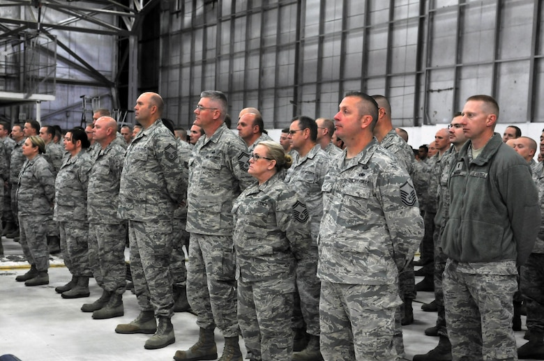 151 ARW change of command