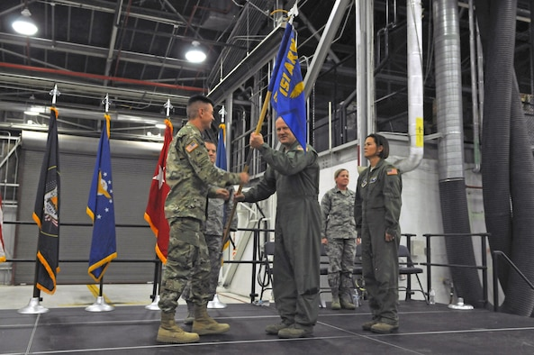 151 ARW change of command