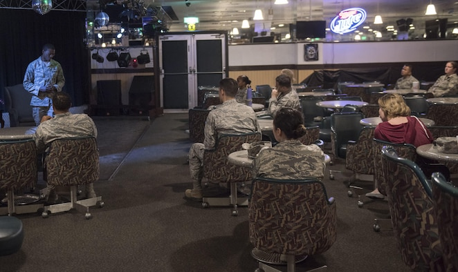 Facing your demons: Airmen share personal tales of resiliency during Storytellers