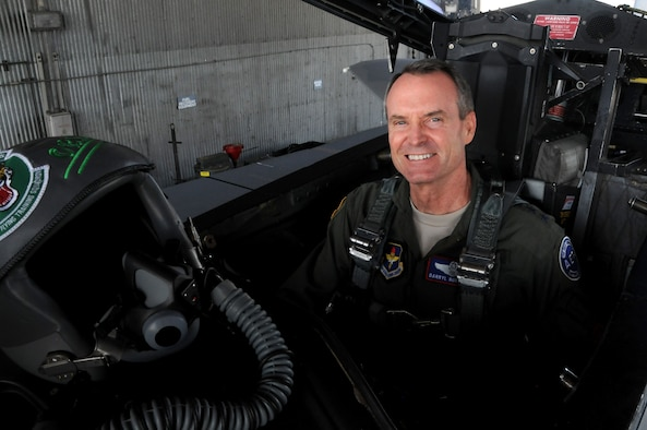 U.S. Air Force Lt. Gen. Daryl Roberson has spent the last two and a half years as commander of Air Education and Training Command at Joint Base San Antonio-Randolph, Texas.