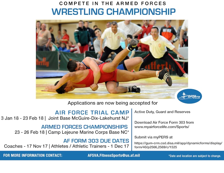 2018 All-Air Force Wrestling Team Try outs