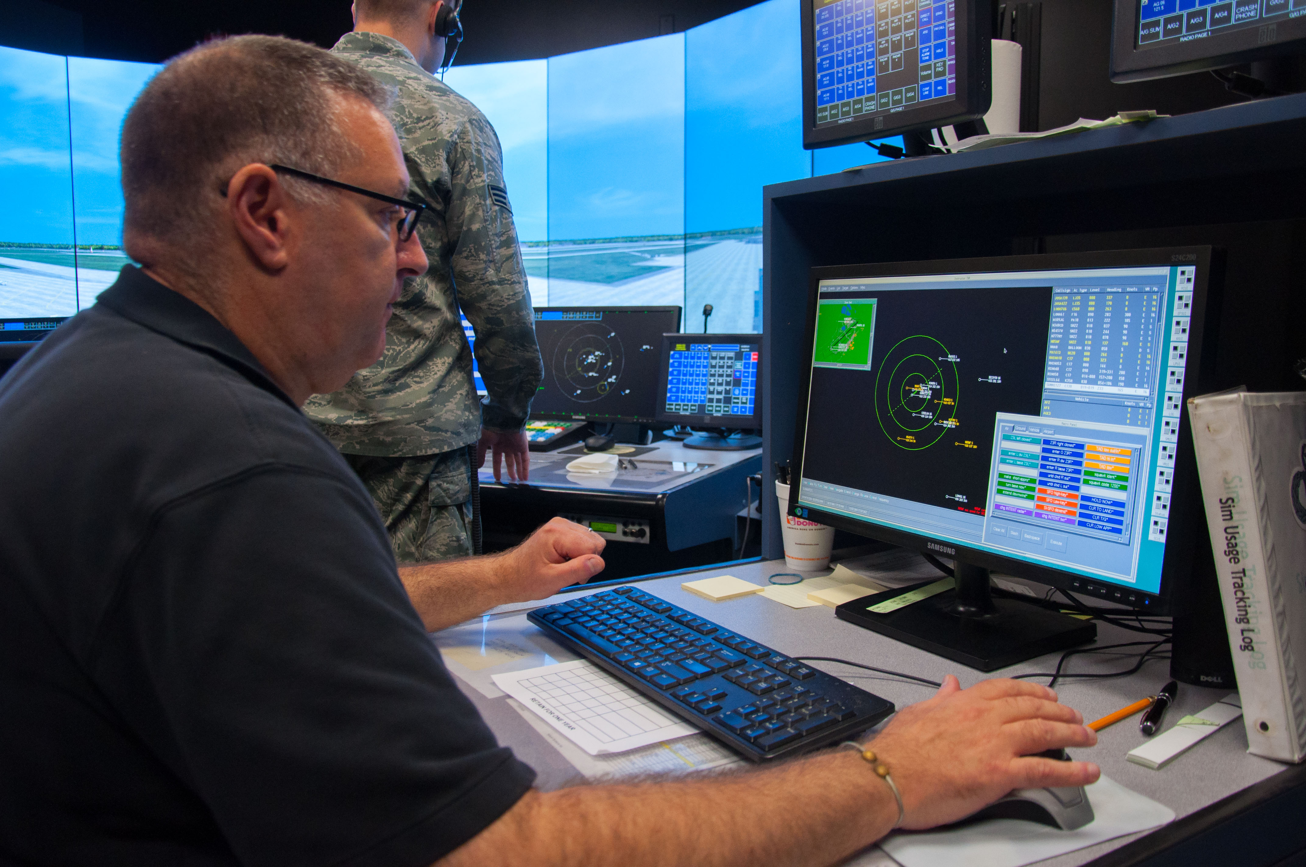 Airfield Operations Flight keeps things safely moving in air