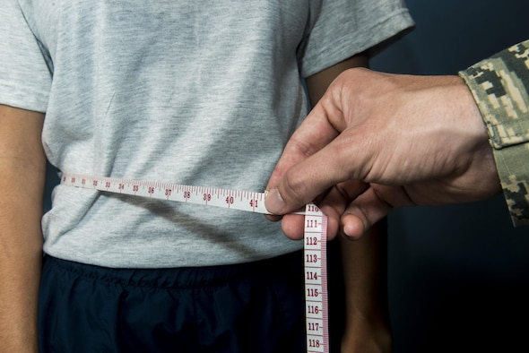 Maintaining a healthy weight is important for military members to stay fit to fight.