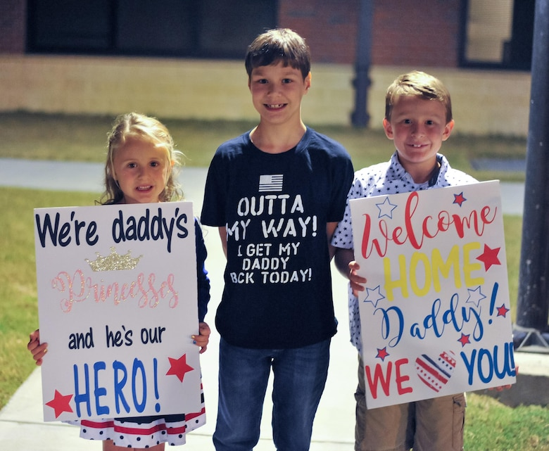 560th Red Horse Returns Home From Deployment