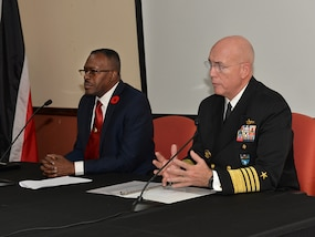 Security leaders from the United States and Trinidad and Tobago discuss security cooperation