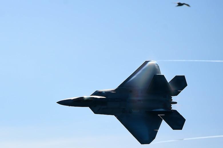F-22 Raptor airborne