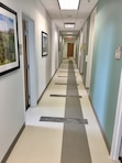 CANNON AIR FORCE BASE, N.M. – A hallway in the new Medical/Dental clinic, Oct. 18, 2017.