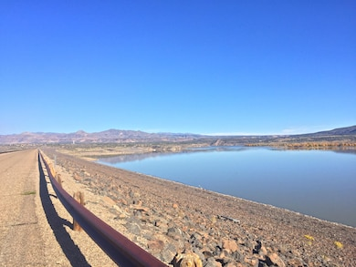 COCHITI DAM, N.M. – A view of Cochiti Lake from along the dam, Oct. 26, 2017. Photo by Ashley Tellier. This was a 2017 Photo Drive entry.