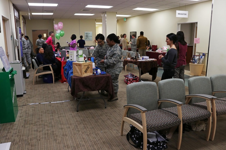 374th Medical Group ladies night out