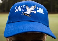 A hat displays during a Safeside reunion golf tournament Nov. 6, 2017, in Valdosta, Ga. Biennially the Safeside association holds a reunion to interact with their past and present comrades from the 820th Base Defense Group. (U.S. Air Force photo by Airman Eugene Oliver)