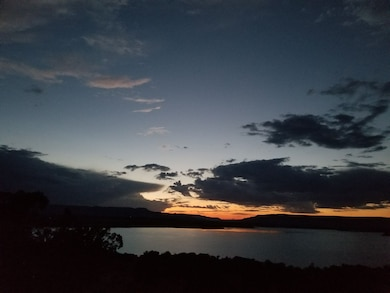 ABIQUIU LAKE, N.M. – Sunset at the lake, Aug. 1, 2017. Photo by Jeffery Austin. This was a 2017 Photo Drive entry.