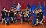 Fort Lee Army band performs