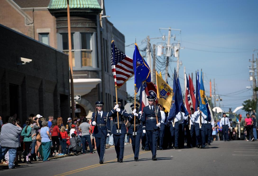 Keesler Air Force Base Honors Veterans in Gulf Coast Veterans Day Parade
