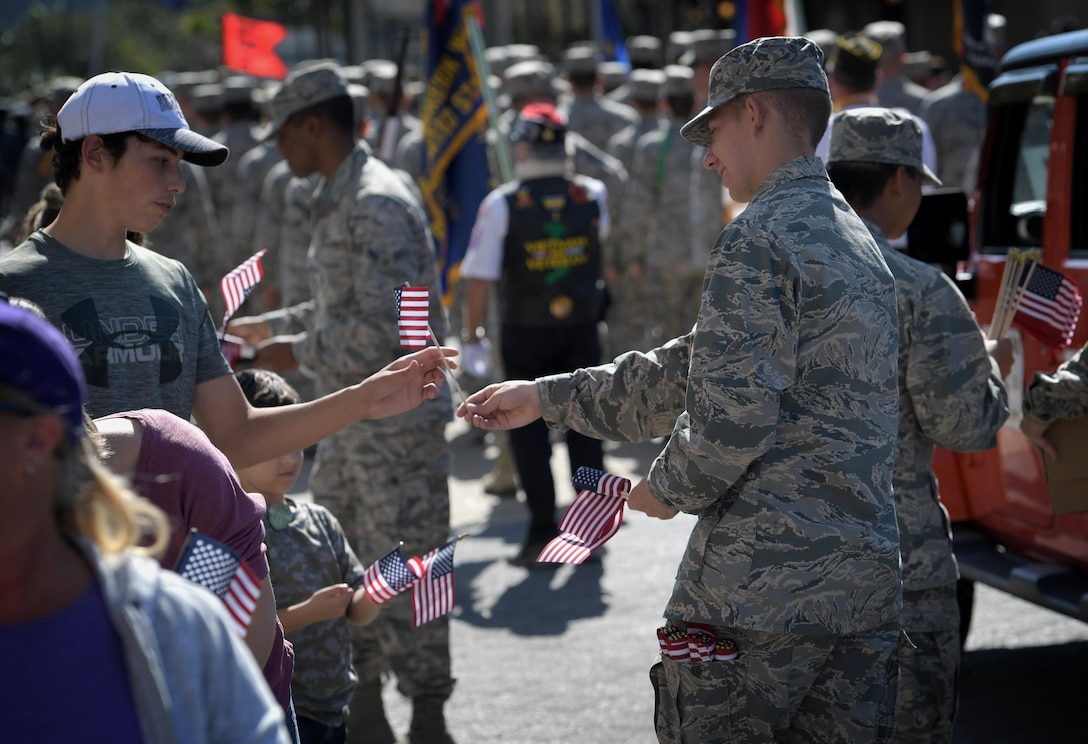 Keesler Air Force Base Honors Veterans in Gulf Coast Veterans Day Parade