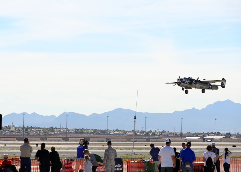 Aviation Nation 2017 Air and Space Expo at Nellis Air Force Base, Nev.,