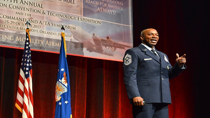Provides enlisted perspective to Airmen during A/TA Symposium